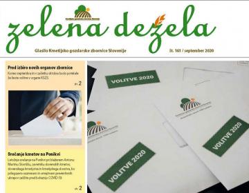 Zelena dežela 161 volilna - september 2020
