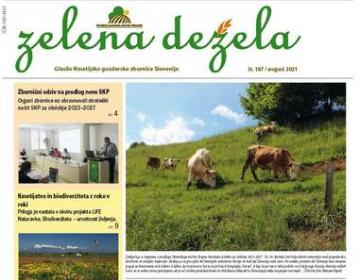 Glasilo Zelena dežela 167 - avgust 2021