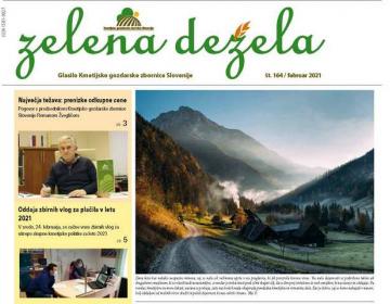 Glasilo Zelena dežela 164 - februar 2021