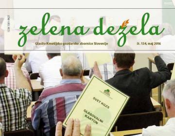 Zelena dežela 134 volilna - maj 2016