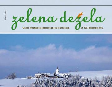 Zelena dežela 138 - december 2016