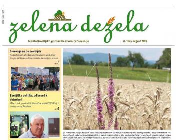 Zelena dežela 154 - avgust 2019